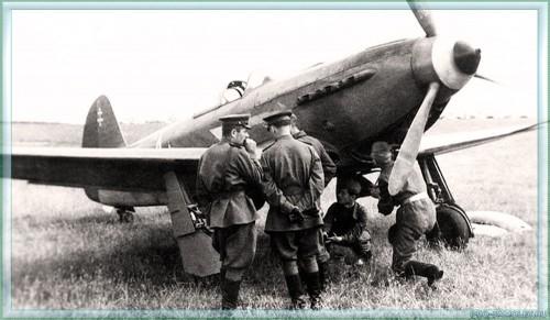 Галерея - Авиация: Истребители Як-3 - Фото ...: http://pro-samolet.ru/foto/fighters-yak-3/yak3-07-78