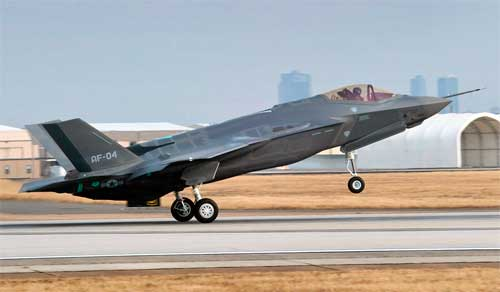 F-35 AF-4 First Flight