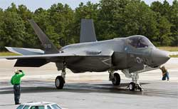 F-35C Catapult Launch Testing