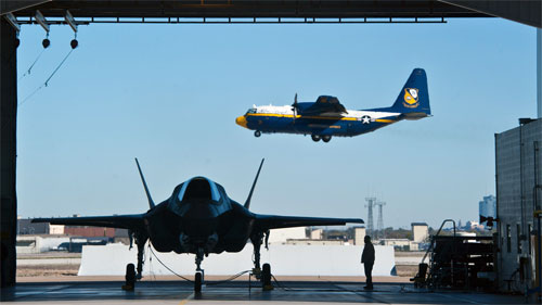 F-35B & The Blue Angels' Fat Albert