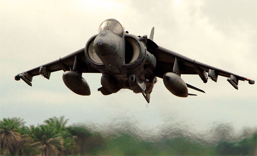 Самолет AV-8B Harrier II