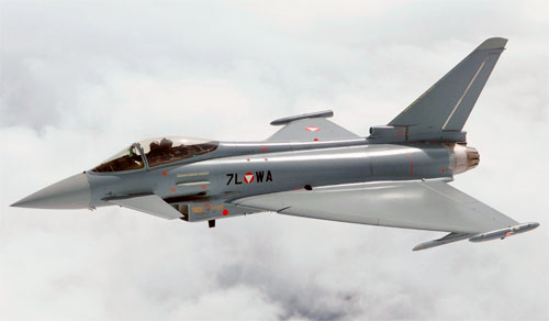 Самолет Eurofighter Typhoon