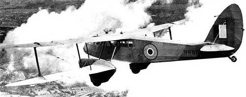 de Havilland DH.89 Dominie trainer 1