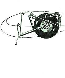 Схема основной опоры самолета ИЛ-2