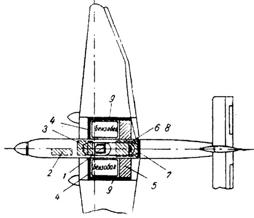 Схема бронирования Ю-87Д